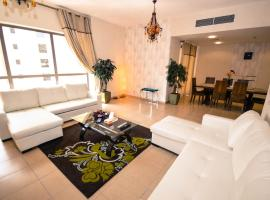 Hometown Apartments - Stylish 3 Bedroom Apartment, Beachfront, Dubai