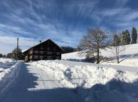 historischer, Allgäuer Bergbauernhof