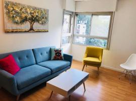 Sunny Retreat Apartment by German Colony, Haifa