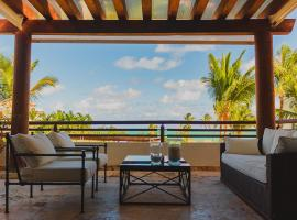 Luxury Beach Front Apartment in Punta Palmera, Punta Cana