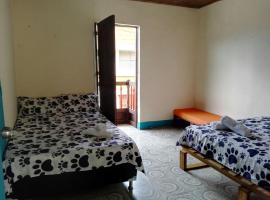 Experiencia hostel, Jardin