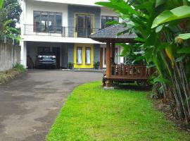 Villa Banana, Puncak