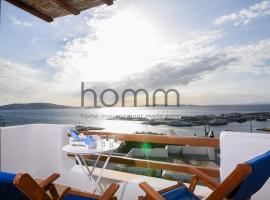 Unique Mykonos Tourlos 50m² Sea View Apartment, Tourlos