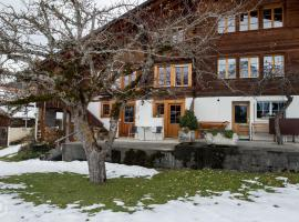 Typical Swiss chalet with a amazing views, Hasliberg