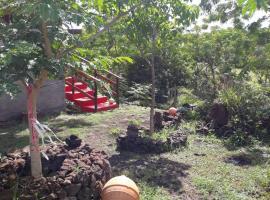 Cabañas Tarai rongorongo, Hanga Roa