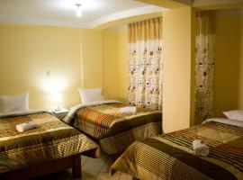 Hotel Residencial Tamia, Huaraz