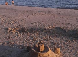 Cabaña, Playa Santa Ana
