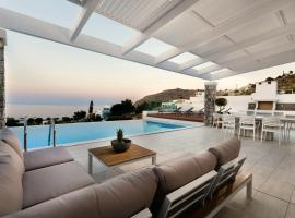 Villa Serene with swimming pool in Lindos, Líndos