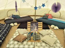 Jumbo Bell Tent By The Sea, Singapore