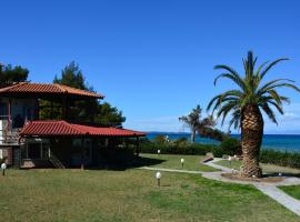 Miramare Villa in Polichrono Beach, Polykhrono