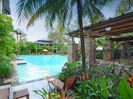 Sea Temple 220 Queen Spa Studio Beachfront Resort, Palm Cove
