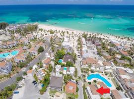 DELUXE E2, 2 BR, SEA VIEW, POOL, ROOF TERRACE, Punta Cana