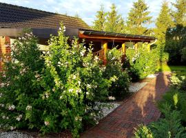Cozy Apartment in Satow Kuhlungsborn & Doberan with garden
