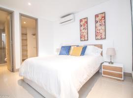Cozy 1BR with first-class view, Cartagena de Indias