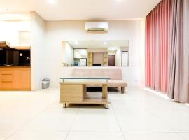Modern 2 BR Apartment @ Mangga Dua Residence By Travelio, Dżakarta
