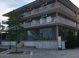 Villa Unbelposto, Nea Vrasna