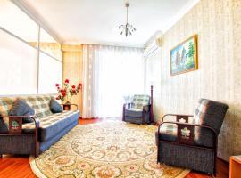 Апартаменты в Нурсае с видом на Поющие фонтаны, Астана