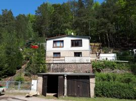 4-pers Bungalow Ziegelrode Ahlsdorf Sud-Harz 2/1 kap Links