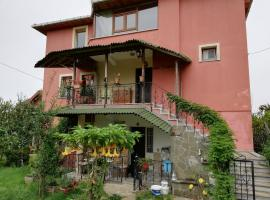 Duplex Villa with Private Garden, City & Sea View in Akyazi Village, Трабзон