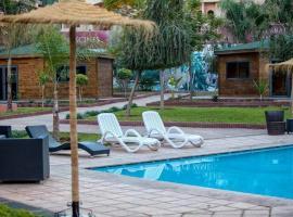 Un appartement chic et confortable, avec piscine, Marrakesz