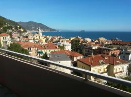 Splendida vista panoramica sul mare, Laigueglia