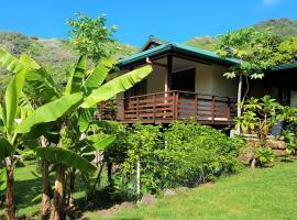 Maison Heipua à Hiva Oa, Atuona
