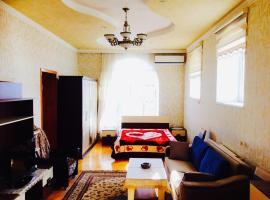 Deluxe room with ensuite and kitchen, Sheki