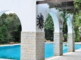 Drosia villa sleeps 10, 哈尔基斯