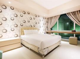 Dazzle Studio Room @ U-Residence Apartment By Travelio, Dahung