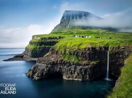 lufthavnen på færøerne