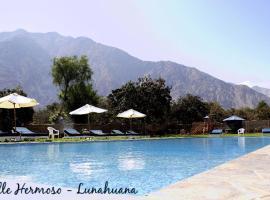 Hotel Vallehermoso Lunahuana, Lunahuaná
