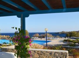 White & Blue Villa Mykonos, Ornos