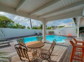 Trés belle villa de 4 chambres à Baie Nettlé, Saint Martin