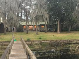 The Q'whack Shack on Lake Seminole with Dock, Fairchild