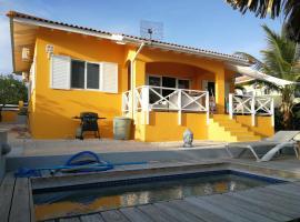 Villa Dushi Curaçao mit Pool, Fontein