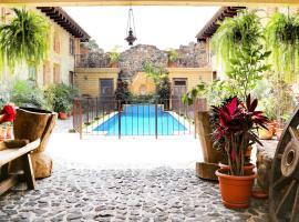 Casa Santa Cruz, Antigua Guatemala