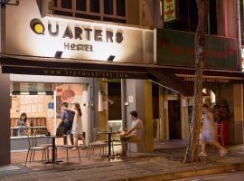 Quarters Capsule Hostel, Singapur