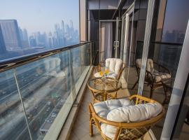 Dubai Deluxe High Floor Balcony Apartment, Dubai