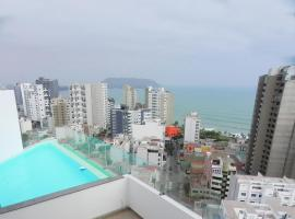 Two blocks from the beach apartment with pool Miraflores, Lima