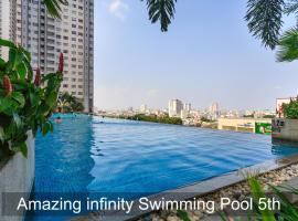 Henry's Apartment 5STAR Luxury2BR Infinity Pool 25th, Ho Chi Minh