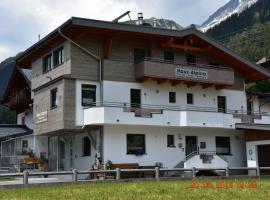 Gästehaus Alpina, Sankt Anton am Arlberg