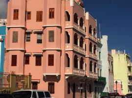 Old City Penthouse w Ocean & City views, San Juan