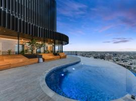 Luxury River View Apartment With Infinity Pool, Брисбен