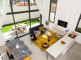 Sweet Inn Apartments - 4 Bdrm Garden Duplex, Tel Aviv