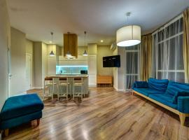 Luxury two-bedroom apartment in Shchorsa 44a, 基辅