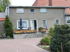 Comfortable Apartment in Steffenshagen with Garden