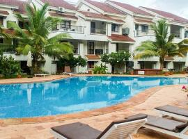 Apartment with pool, Arpora, Goa, by GuestHouser 62567, Arpora