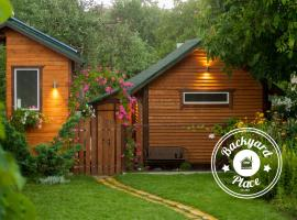 Classy Backyard Cabin, Vinnytsya