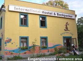 Hostel kangaroo-stop