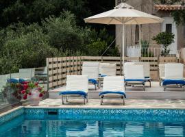 Vigla House in Corfu, Víngla